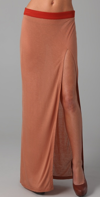 sass & bide Beauty & Madness Long Skirt with Slit