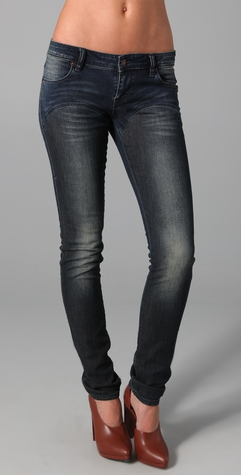 sass & bide Now & Again Contrast Jeans