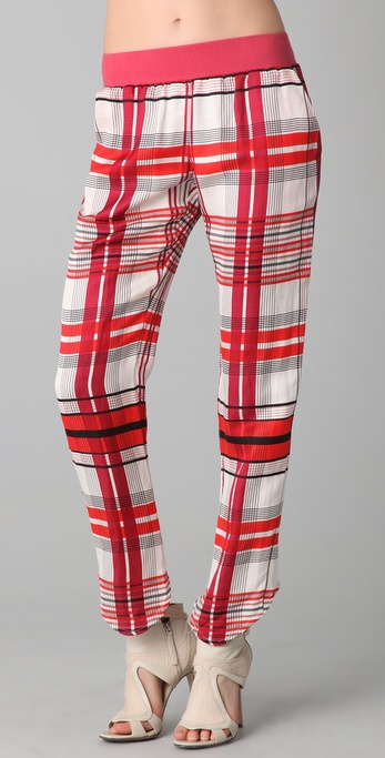 sass & bide The Front Line Plaid Pants