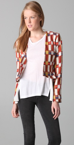 sass & bide Travelers Check Jacket