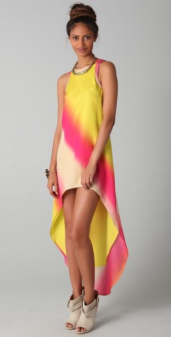 sass & bide Secret Place Sunburst Print Dress