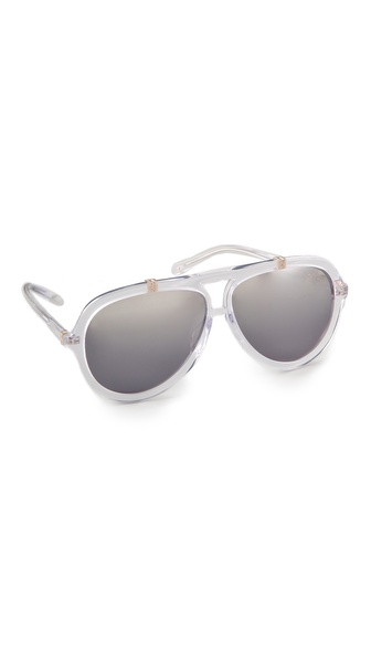 sass & bide Mirrored Accra Sunglasses