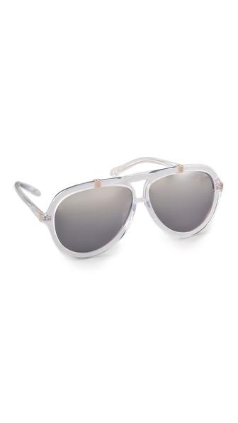 sass & bide Mirrored Accra Sunglasses