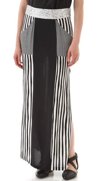 sass & bide The Shock Tactic Long Skirt