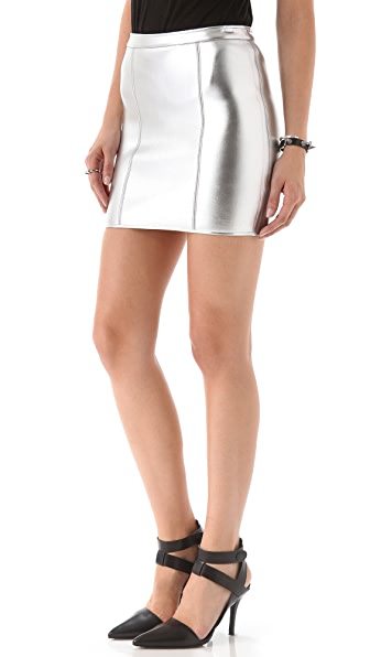 sass & bide Star Turn Neoprene Skirt