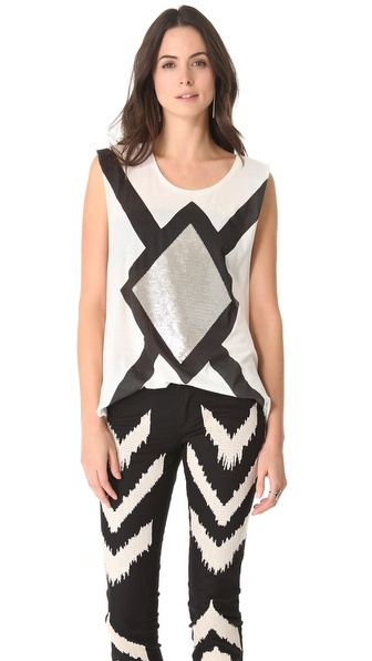 sass & bide The Go Big Tank