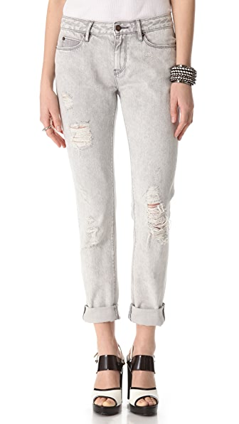 sass & bide Leap Taker Distressed Jeans