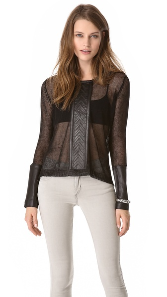 sass & bide Too Much Space Pullover