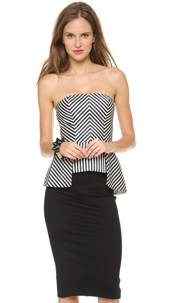 sass & bide Bad Seeds Bustier Top
