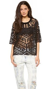 sass & bide The Back Streets Beaded Top