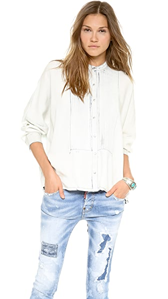 sass & bide The Thunder Bird Blouse