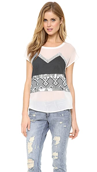 sass & bide Memory Lane Top