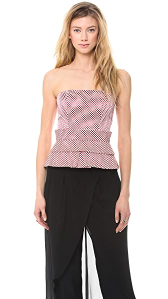 sass & bide The Deep End Bustier Top