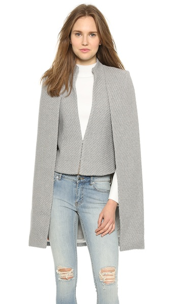 Sass & Bide The Snowbird Cape - Grey Melange