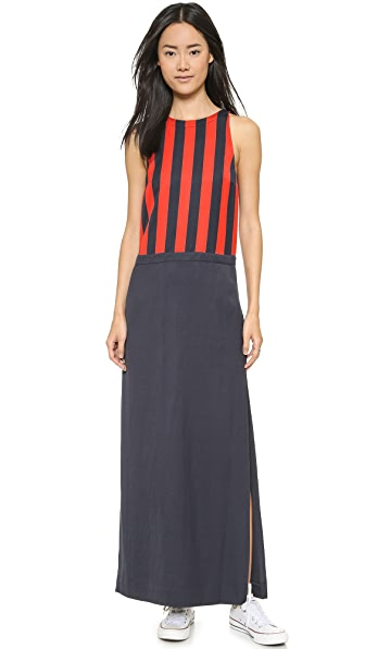 Sass & Bide Sass & Bide Invisible Audience Maxi Dress (Blue)
