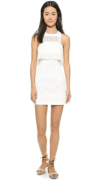 Sass & Bide Sass & Bide Three Crowns Fringe Dress (White)
