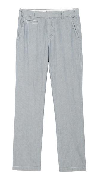 Save Khaki Novelty Slim Trousers