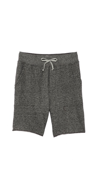 Save Khaki French Terry Sweatshorts