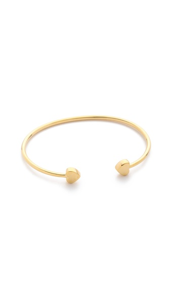 Sarah Chloe Lily Heart Bangle Bracelet