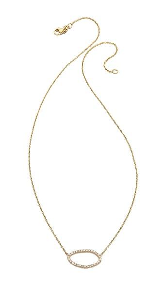 Sarah Chloe Large Organic Diamond Necklace