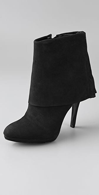 Schutz Cuff High Heel Booties