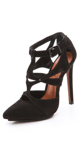 Schutz Arleen Caged Pumps at Shopbop / East Dane