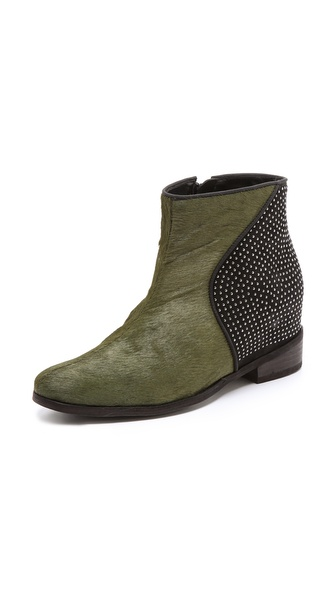 Schutz Chelsea Louise Haircalf Booties