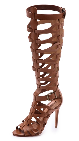 Schutz Eirini Cutout Tall Gladiator Sandals