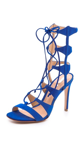 Schutz Erlene Lace Up Sandals