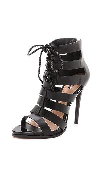 Schutz Fermina Lace Up Sandals