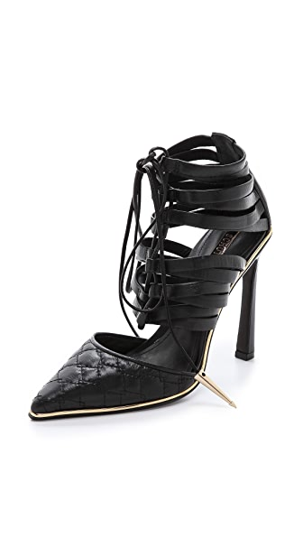 Schutz Davynn Lace Up Pumps