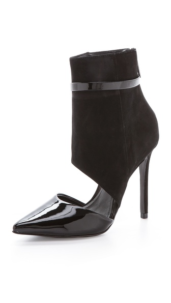 Schutz Georgeane Cutout Booties