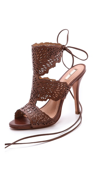 Schutz Garoa Laser Cut Sandals