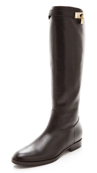 STEVEN DANN Katherine Flat Riding Boots