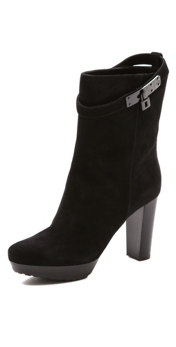 STEVEN DANN Leah Stacked Heel Platform Booties at Shopbop / East Dane