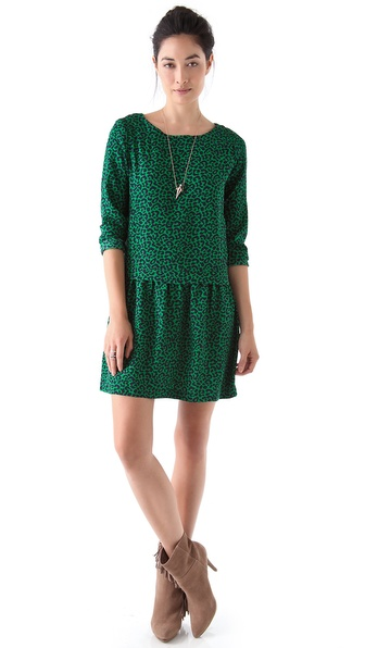 Sea Leopard 2 Pocket Dress