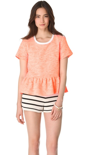 Sea Combo Ruffle Tee