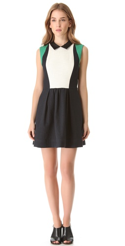Shop Sea Pauline Colorblock Dress and Sea online - Apparel,Womens,Dresses,Day_to_Night, online Store