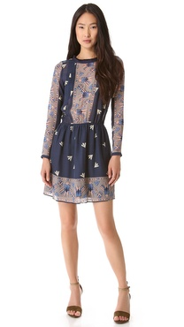 Sea Eagle Print Dress