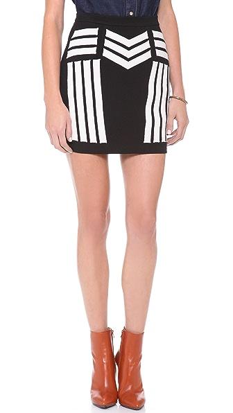 Sea Embroidered Skirt