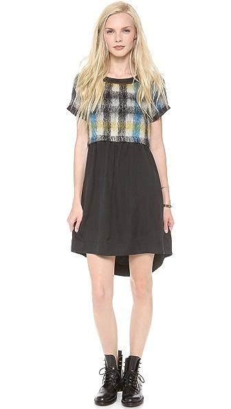 Sea Mohair & Silk Dress