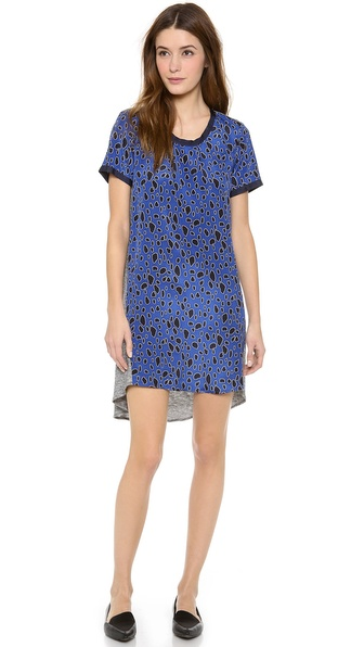 Sea Leopard & Jersey Dress