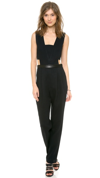 Sea Side Cutout Jumpsuit