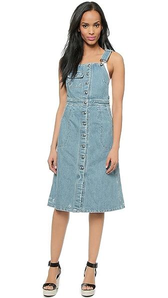 Kupi Sea haljinu online i raspordaja za kupiti Sea Denim Button Up Dress - Indigo online