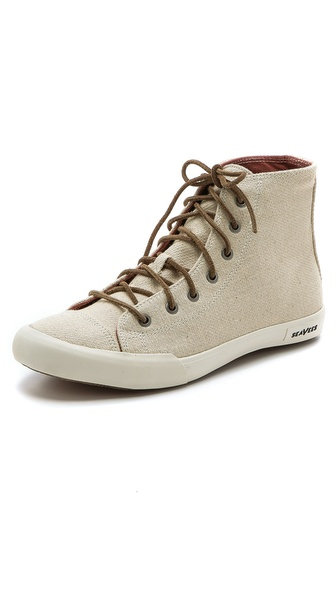SeaVees 08/61 Army Issue High Top Sneakers