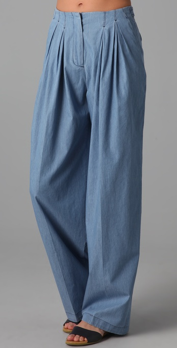 See by Chloe High Waisted Wide Leg Trousers