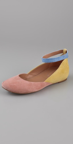 See by Chloe Hidden Wedge Flats