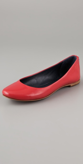 See by Chloe Zip Back Flats