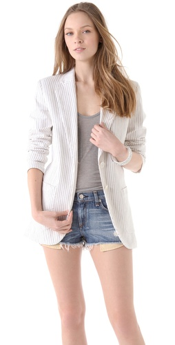 See by Chloe Pinstriped Blazer