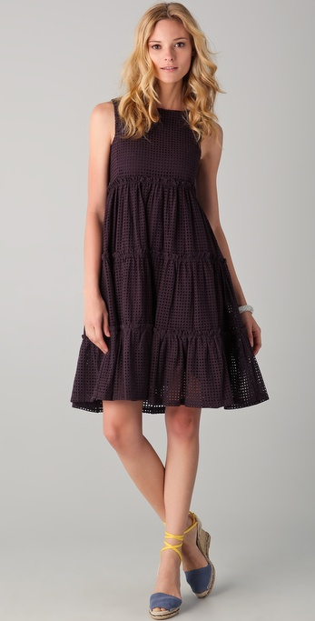 See by Chloe Gathered Seam Dress